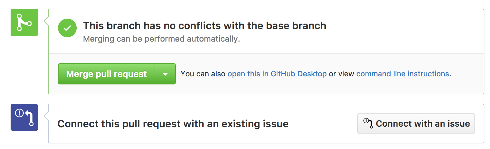 tracking pull requests and GitHub issues