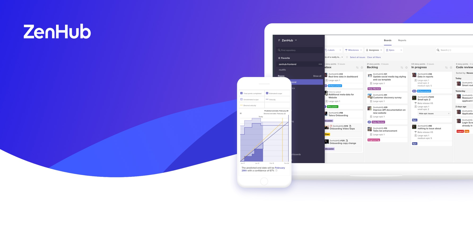 ZenHub now available for web and mobile devices!