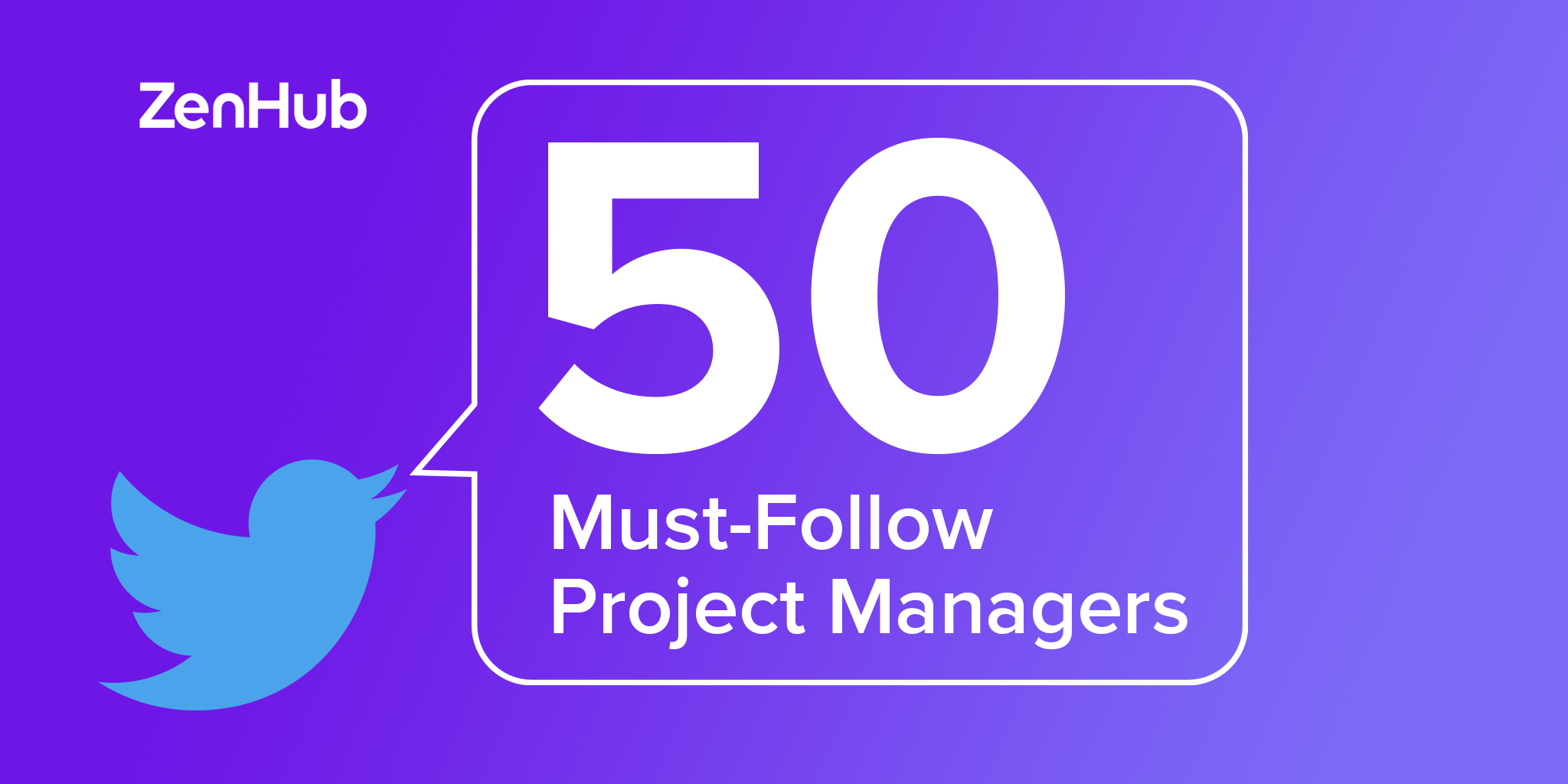 50 Must-Follow Project Managers on Twitter in 2020