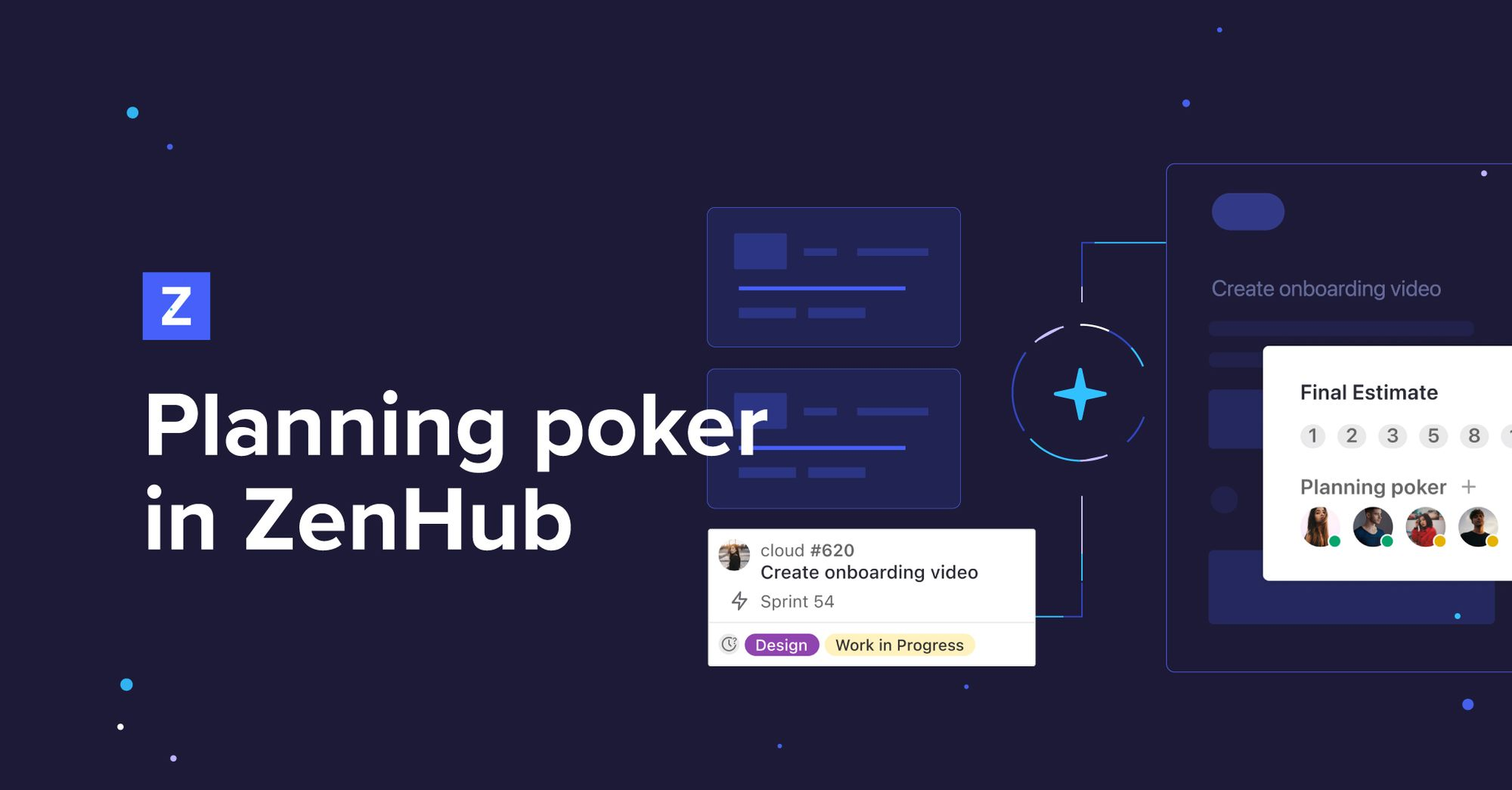 Introducing planning poker in ZenHub: Story point estimation in GitHub